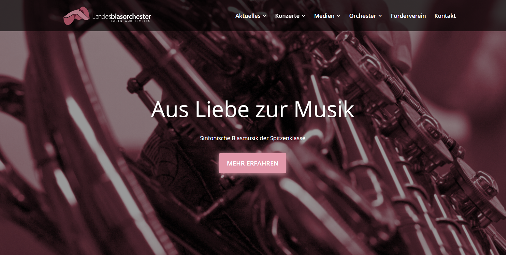 Homepage-Relaunch | Landesblasorchester Baden-Württemberg